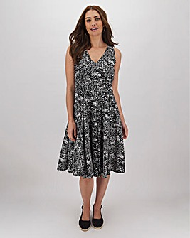 Joe Browns Mono Print Prom Dress