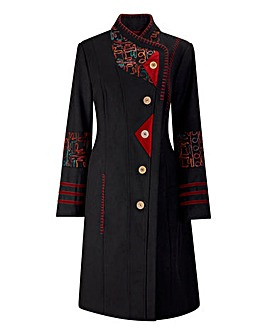 Joe Browns Elegant Embroidered Coat