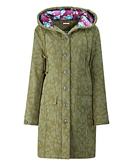 Joe Browns Floral Parka Coat