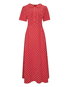 Joe Browns Crepe Polka Dot Dress