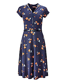 Joe Browns Floral Spot Ditsy Dress