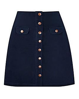 Joe Browns Autumn Cord Mini Skirt