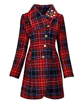 Joe Browns Sensational Check Coat