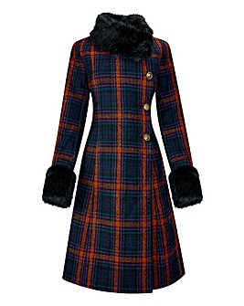Joe Browns Favourite Check Coat