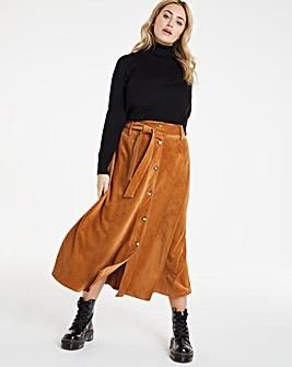 Joe Browns Belted Cord Skirt