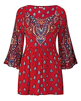 Joe Browns Boho Reds Top