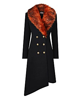 Joe Browns Fabulous Fur Trim Coat