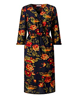 Joe Browns Blue Print Dress