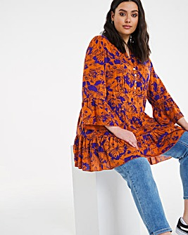 Joe Browns Abstract Floral Smock Top