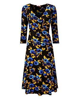 Joe Browns Fabulous Floral Jersey Dress