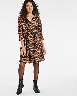 Joe Browns Animal Tiered Dress