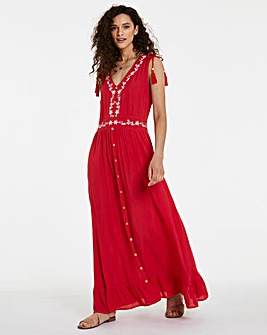 Joe Browns Embroidered Maxi Dress
