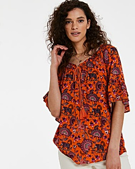 Joe Browns Printed Boho Blouse