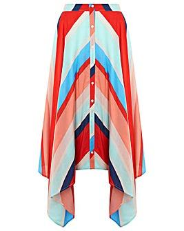 Monsoon Suki Stripe Maxi Skirt