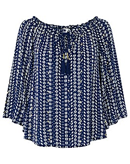 Monsoon Mae Off The Shoulder Top