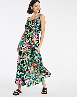 Joe Browns Tropical Print Maxi Dress