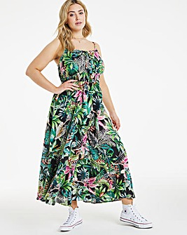 Joe Browns Tropical Print Maxi Dress