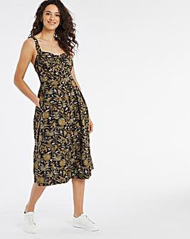 Joe Browns Safari Print Button Up Dress