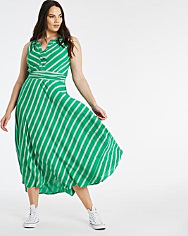 Joe Browns Stripe Maxi Dress