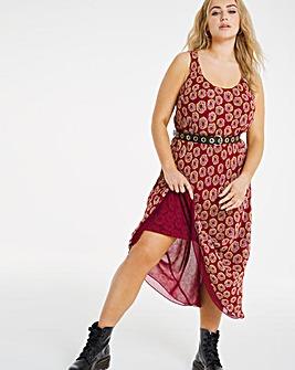Joe Browns Reversible Printed Dress