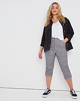 Joe Browns Check Cropped Jeans