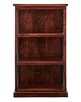 Jaipur Ready Assembled Acacia Wood Bookcase