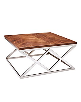Melrose Chevron Coffee Table