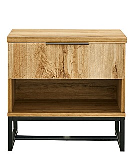 Soho 1 Drawer Bedside Table