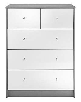 Taylor 3+2 Drawer Chest