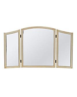 Perla Tri-fold Dressing Mirror