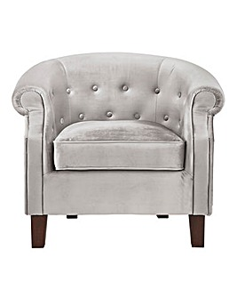 Eden Button Back Accent Chair