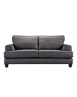 Harper Fabric 3 Seater Sofa