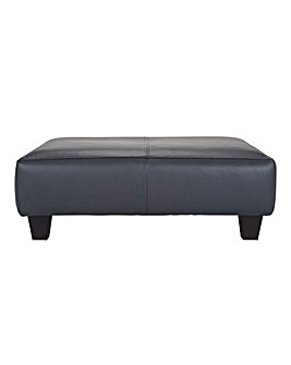 Harper Leather Footstool