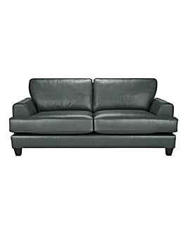 Harper Leather 3 Seater Sofa