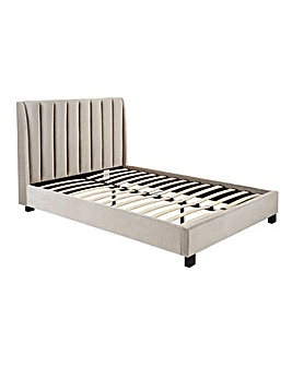 Porto Fabric Bedstead Quilted Mattress