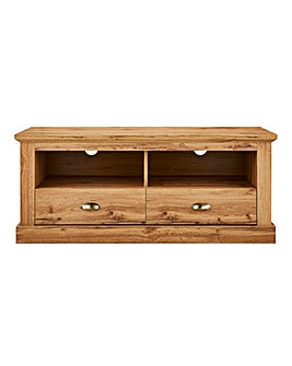 Alderley Oak Effect Wide TV Unit