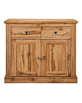 Alderley Oak Effect 2 Door 2 Drawer Sideboard