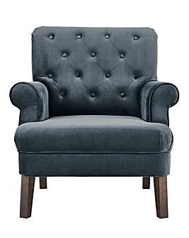 Grantham Velvet Accent Chair