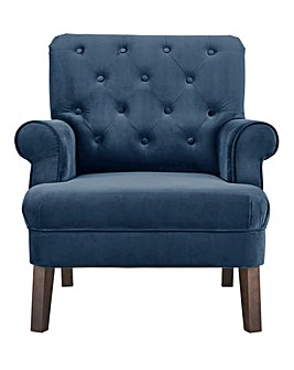 Grantham Velvet Accent Chair