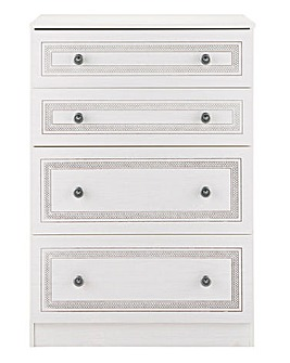 Richmond Ready Assembled 4 Drawer Chest