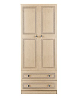 Richmond Assembled 2 Door Wardrobe