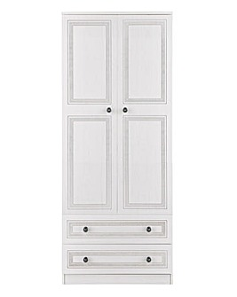 Richmond Ready Assembled 2 Door 2 Drawer Wardrobe