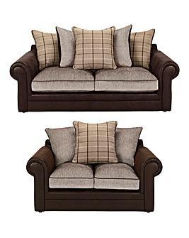 Georgie 3 Seater plus 2 Seater Sofa