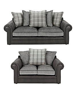 Georgie 3 Seater plus 2 Seater Sofa