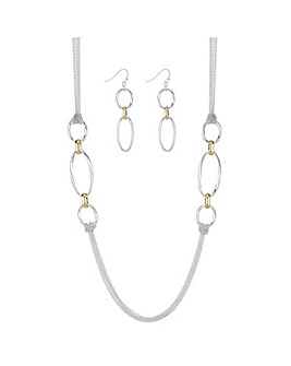 Mood Open Link Chain Jewellery Set