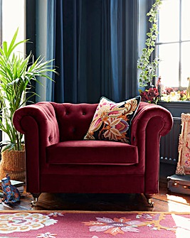 Joe Browns Luxe Chesterfield Chair