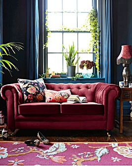 Joe Browns Luxe Chesterfield 2 Seater Sofa