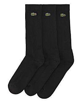 Lacoste 3 Pack Crew Sock