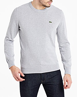 Lacoste Cotton Crew Knit