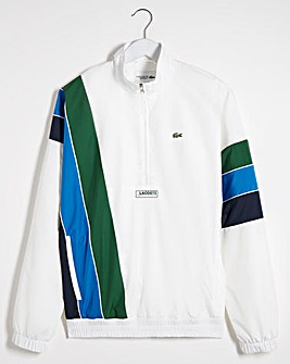 Lacoste Stripe 1/4 Zip Jacket
